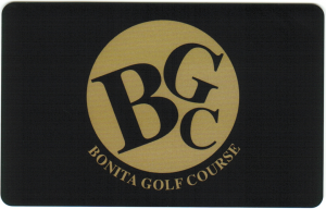 Bonita Golf Course Gift Card